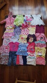 Baby girl clothes bundle 9 - 12 months