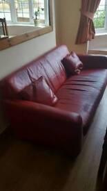 Free!! red sofa
