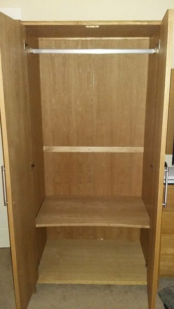 Bensons for Beds Hip Hop Range Wardrobe and Chest of Drawers (5 Drawers).
