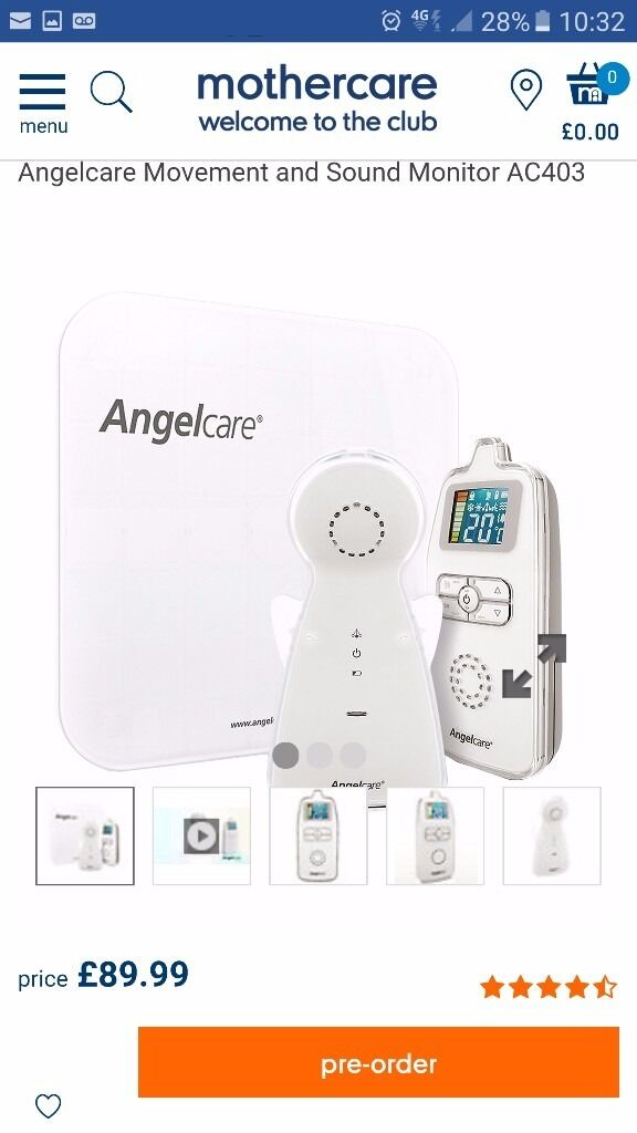 Angelcare sensor mat and monitors