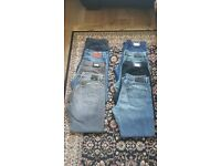 8 pairs of authentic boss hugo boss jeans. Not armani, not true religion, not stone island, no ck
