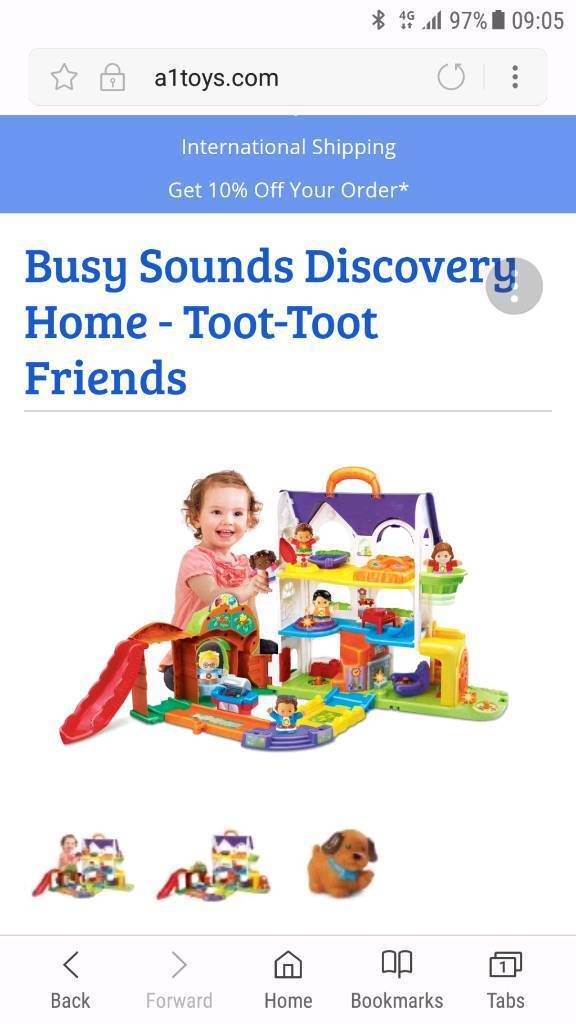 Toot toot discovery house