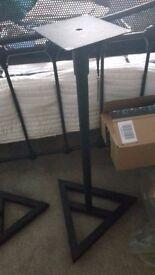 Samson MS200 studio monitor stands - used, good condition