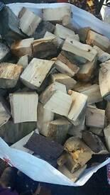 Logs, seasoned hardwood