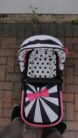 COSATTO GIGGLE 2 ---GO LIGHTLY---PRAM/COT SECTION ONLY!!