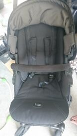 Britax B-Smart 4 Travel System (inc pram, carseat, carseat base, bag & cosy toes)