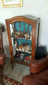 Beautiful Edwardian display cabinet