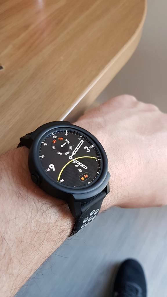 TICWATCH E google wear OS Smartwatch - gps, heart rate monitor | in  Broadmead, Bristol | Gumtree