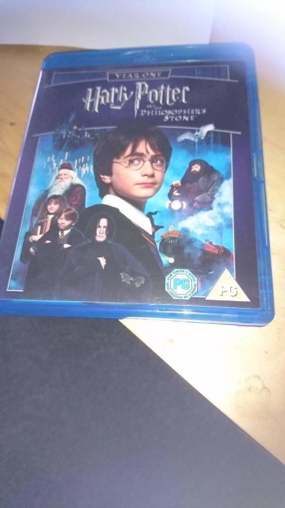 Harrying Potter blu Ray
