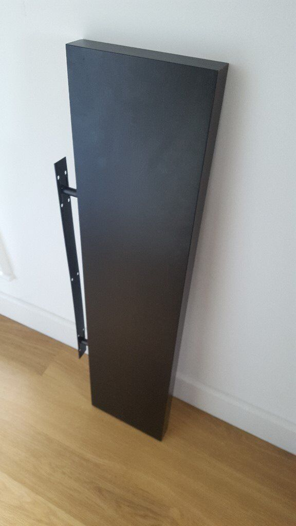 Ikea Lack Wall Shelf - Black - 110 x 26cm