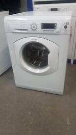 Hotpoint Ultma 8kg 1600 Spin Washing Machine Can Be Delivered Or Collected With Warranty