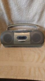 Bush Portable Radio/Tape Combo