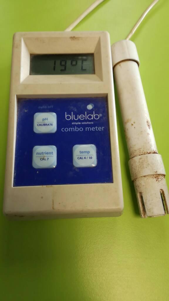 Hydroponics blue lab combo meter -Tent growing equipment