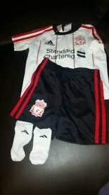 Boys Liverpool football kit 9-12 months