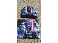 Kids Star Wars Neck Warmer and Hat