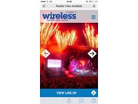 Wireless Festival Friday day ticket