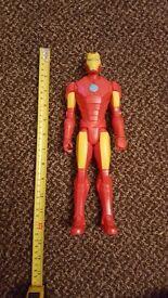 Iron Man, Iron man patriot MARVEL AVENGERS 12 inch Action Figure Titan Hero Series