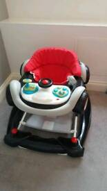 Baby Car Rocker + Walker