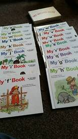 Kids books and flash cards
