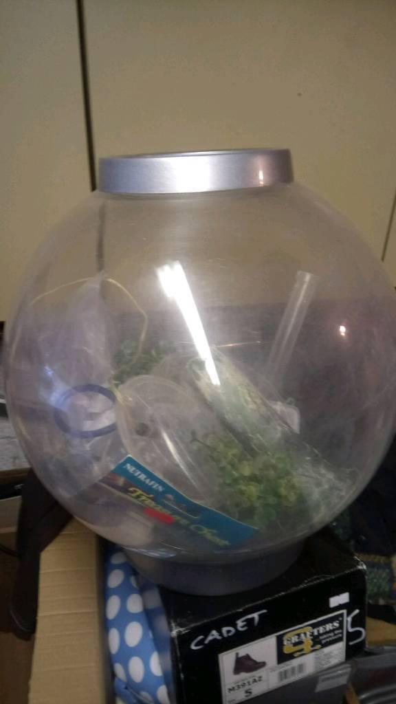 Biorb fishtank 30l with stones filters and spares