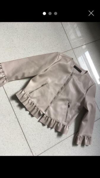Zara Faux Leather Jacket  for sale  Islington, North London