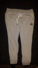 mens grey adidas originals joggers xxl