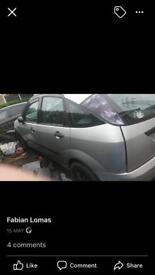 Ford Focus parts only avalible