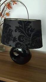 black table lamps