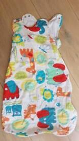 Grobag baby sleeping bag. 1 tog. 0-6 months. Summer