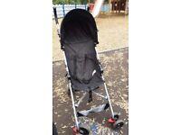 BabyStart Black Pushchair, brand new