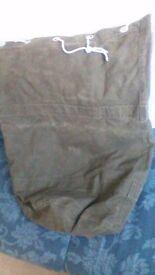 Army kit bag