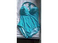 F&F polka dot swimming costume 16
