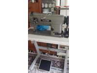 Brother Industrial Double Needle Lockstitch Sewing Machine
