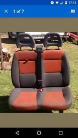 Van double seat