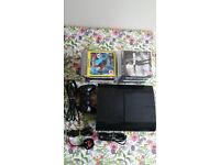 PS3 Slim 500GB + controller + 15games bundle