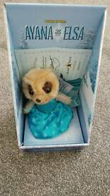 Meerkat toy Ayana as Elsa