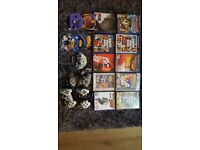 Playstation 2 with games and pads