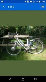 Space or repairs powabyke bike