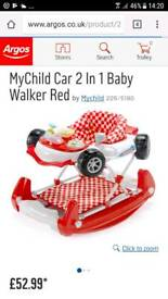 F1 baby walker/rocker 2 in 1