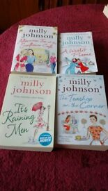 Four Books by Milly Johnson