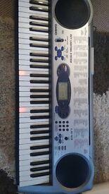 Casio Key Lighting Keyboard - Perfect Christmas Gift, Boxed, Bargain!