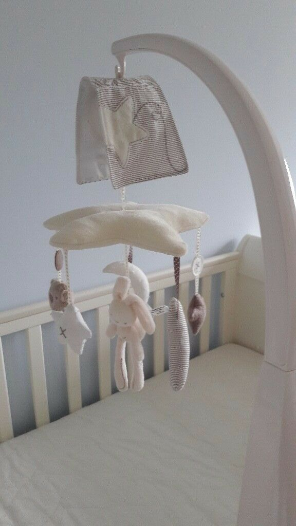 Mamas and Papas cot mobile Millie and Boris range