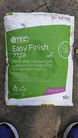 Easy finish gypsum compound