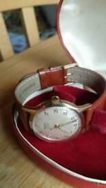 17 jewels Swiss made mens watch