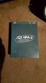 Stereo Studio Headphone Amp MTR HPA2