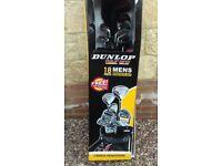 Brand new 18 piece mens graphite set DUNLOP Tour Pro