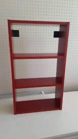 3 shelf units