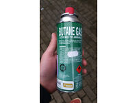 Butane Gas Canister - Kingfisher 250g