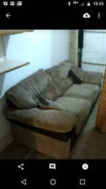 Sofa and bed for sale (separate items!)