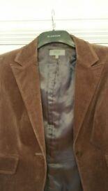 M&S womens velvet blazer, size 12. Steam punk fans.